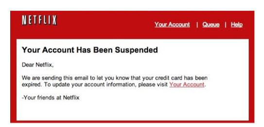 mass phishing attack