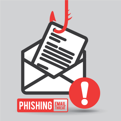 phishing email scam threat