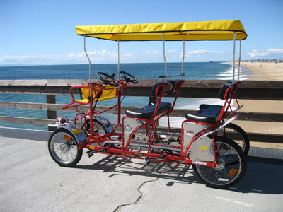 doheny state beach 4 person bike